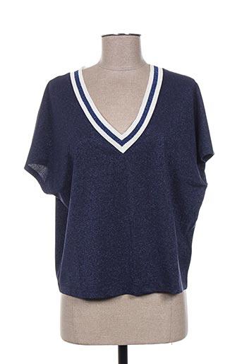 cristina effe chemises femme de couleur bleu