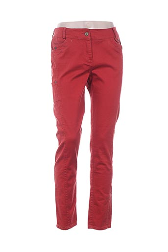 Pantalon casual orange ELORA pour femme