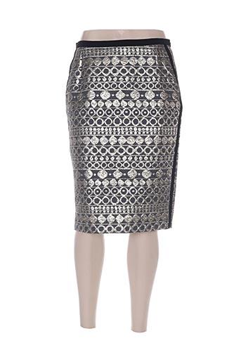 maxmara jupes femme de couleur gris