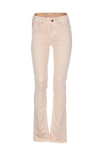closed jeans femme de couleur beige