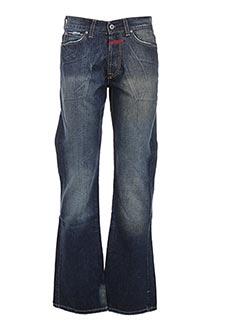 Jeans coupe slim bleu MARITHE & FRANCOIS GIRBAUD pour homme