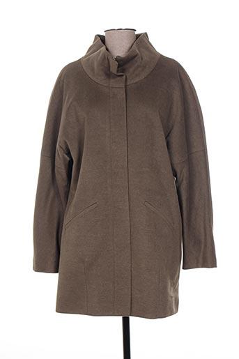 kamachi manteaux femme de couleur marron