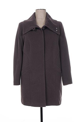 kamachi manteaux femme de couleur gris