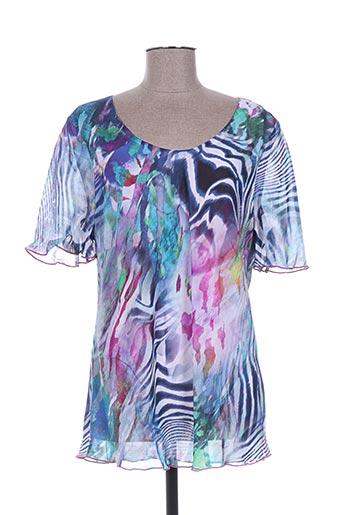 griffon chemises femme de couleur violet
