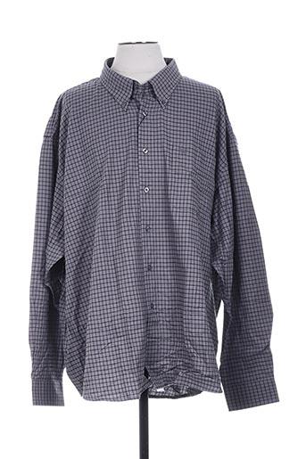 avanez chemises homme de couleur gris