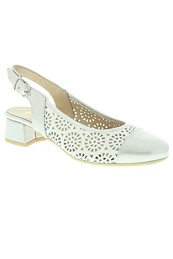d'chicas chaussures femme de couleur gris