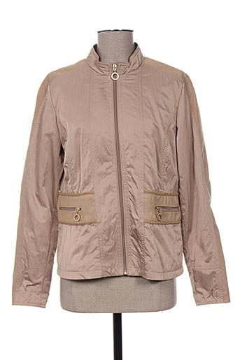 el internationale vestes femme de couleur beige