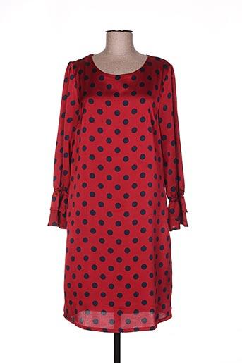 akoz de toi robes femme de couleur rouge