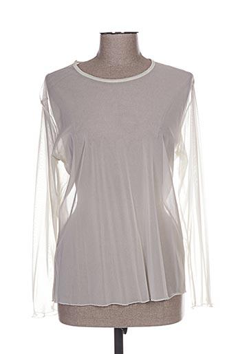 fafa mod chemises femme de couleur beige