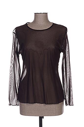 fafa mod chemises femme de couleur marron