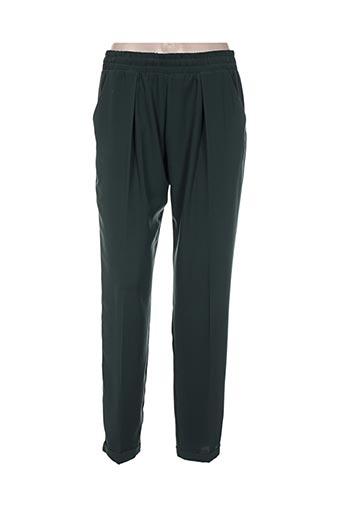 nexty's pantalons femme de couleur vert