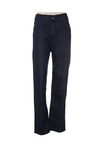 Jeans coupe slim bleu CHRISTIAN MARRY pour femme