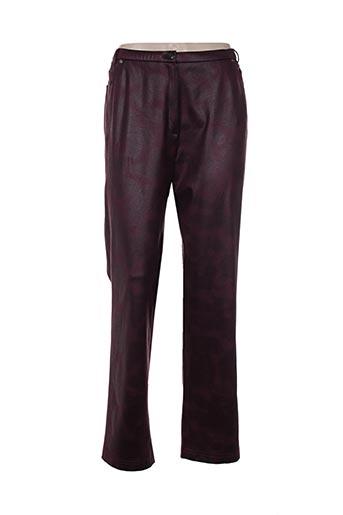 Pantalon casual violet GD pour femme