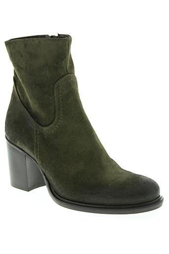strategia chaussures femme de couleur vert