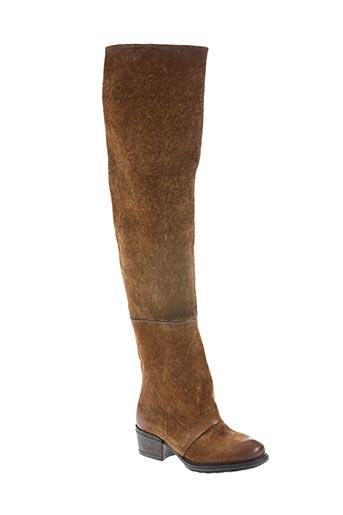 a.s.98 chaussures femme de couleur marron