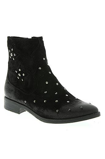 dei colli chaussures femme de couleur noir