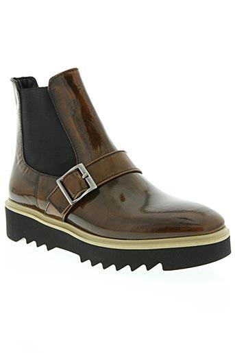 borgoroma chaussures femme de couleur marron