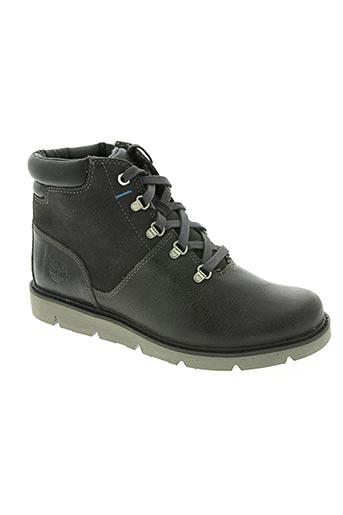 timberland chaussures garçon de couleur gris