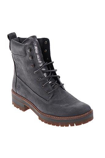 timberland chaussures femme de couleur gris