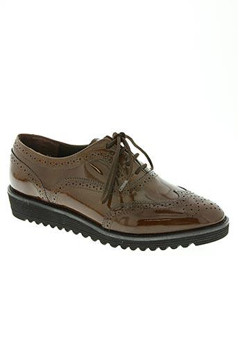 fidji chaussures femme de couleur marron