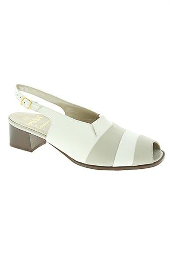 hassia chaussures femme de couleur blanc