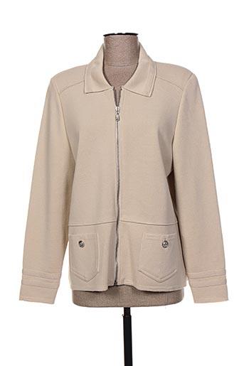pauporté vestes femme de couleur beige