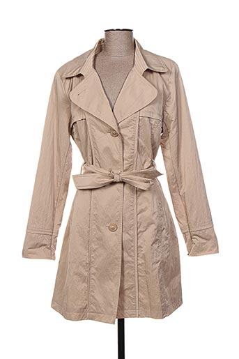 weinberg manteaux femme de couleur beige