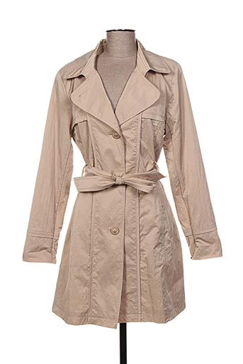 Imperméable/Trench beige WEINBERG pour femme
