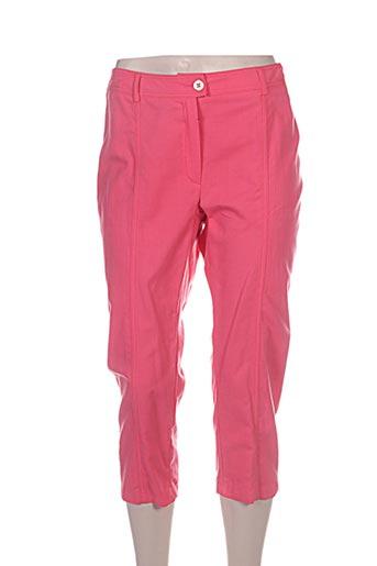 weinberg pantacourts femme de couleur rose