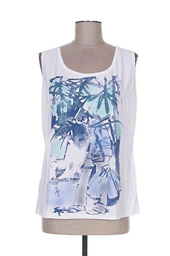 weinberg t-shirts femme de couleur bleu
