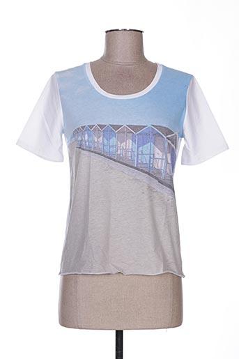 T-shirt manches courtes blanc WEINBERG pour femme