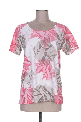 T-shirt manches courtes rose WEINBERG pour femme