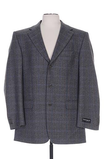 Veste casual bleu FERKINGHOFF pour homme