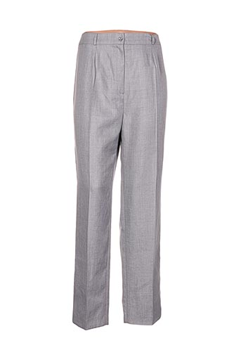 jean delfin pantalons femme de couleur gris