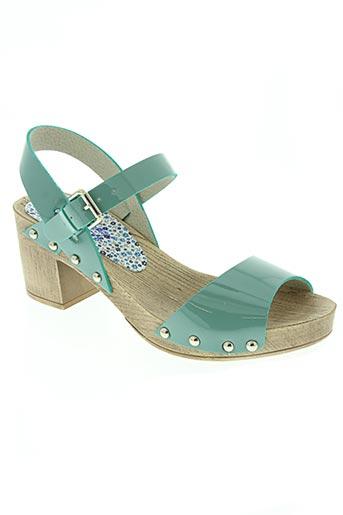ippon vintage chaussures femme de couleur bleu