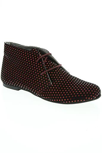 ippon vintage chaussures femme de couleur rouge
