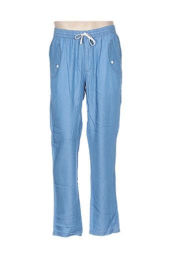 la panoplie pantalons homme de couleur bleu