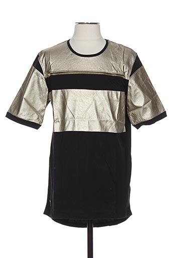 T-shirt manches longues beige BLACK KAVIAR pour homme