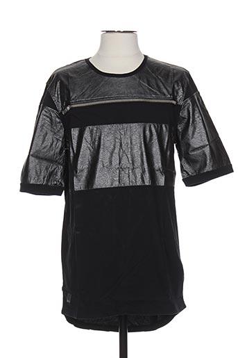 T-shirt manches longues noir BLACK KAVIAR pour homme