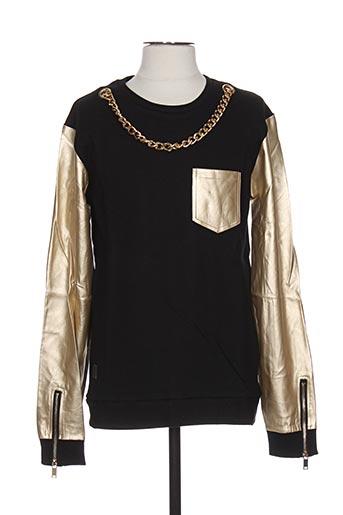Sweat-shirt beige BLACK KAVIAR pour homme
