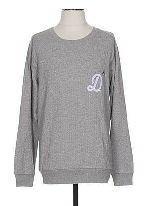 Sweat-shirt gris COMMUNE DE PARIS 1871 pour homme