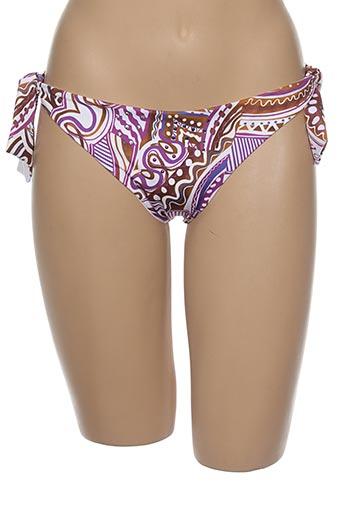 Bas de maillot de bain violet CROOL pour femme