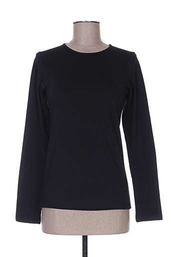 chic lady t-shirts femme de couleur noir