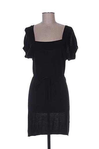 Robe pull noir GOSSIP pour femme