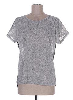 Top gris CC FASHION pour femme