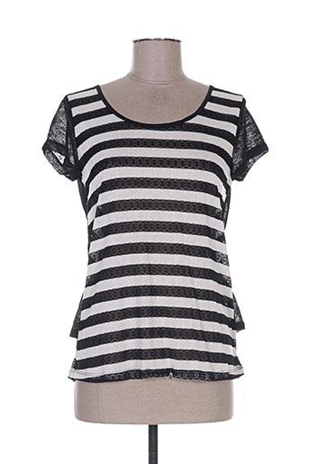 chic girl t-shirts femme de couleur noir
