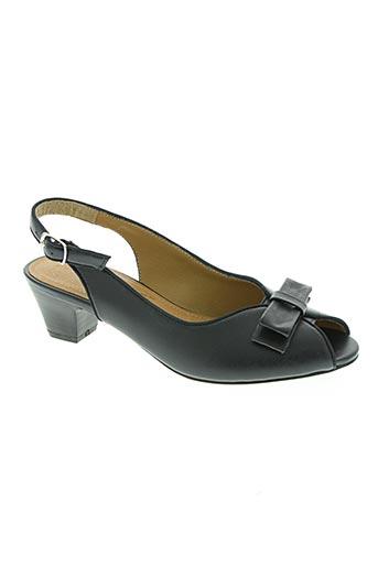 confortissimo chaussures femme de couleur bleu