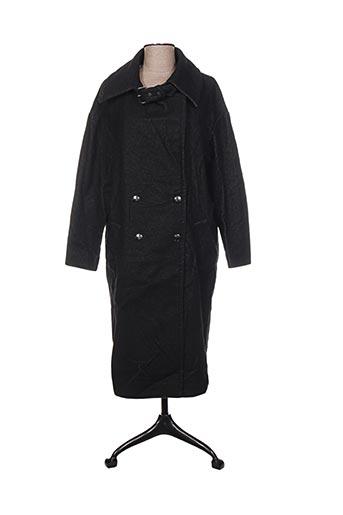 Manteau long noir COP COPINE pour femme