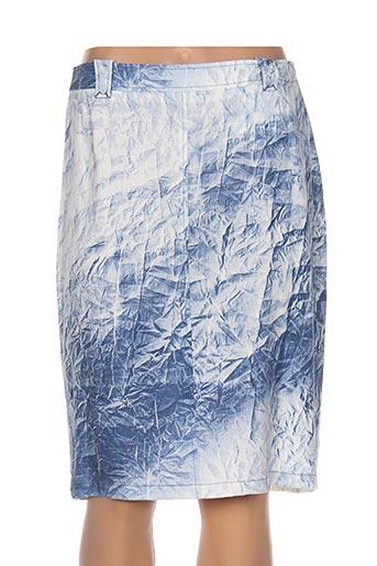 impulsion jupes femme de couleur bleu