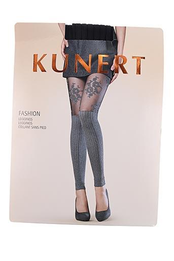 kunert pantalons femme de couleur noir